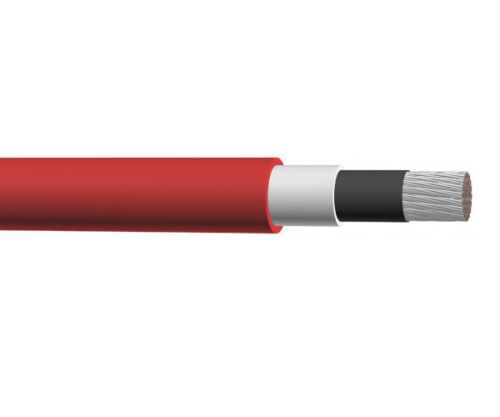 100/' 2 AWG Jumper Lead Wire Red Single Conductor Power Cable 5kV//15kV