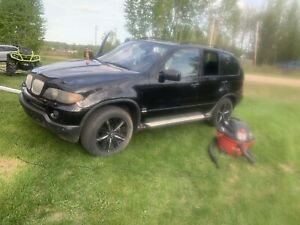 2005 BMW X5 and kfx450 for a car