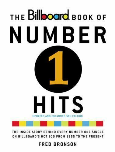 The Billboard Book of Number One Hits Paperback Fred Bronson