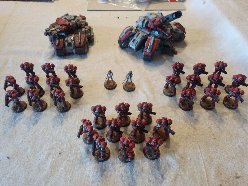 Warhammer 40000 miniatures Starcraft Terran Dominion army
