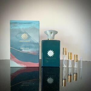 Amouage Enclave Eau de Parfum Travel Sample 2ml 3ml 5ml Spray