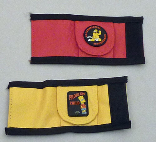"Bart /& Homer /""The Simpsons/"" Two Grover Pick Pouches"