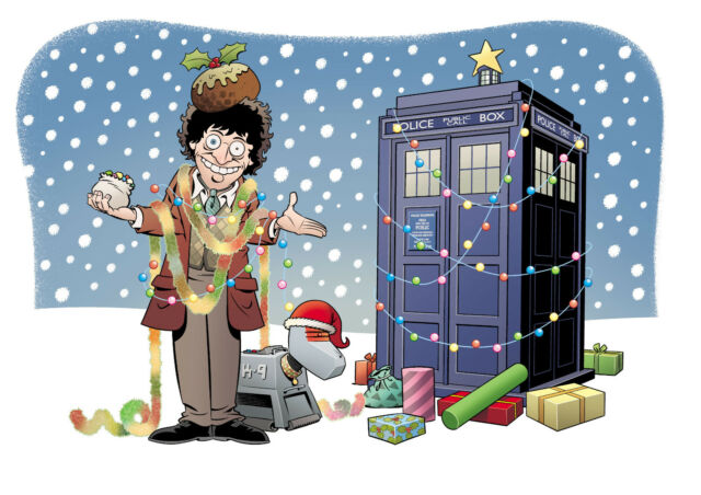 Doctor Who Christmas Cards.Doctor Who Charity Christmas Cards For 10 100 For Charity Fab