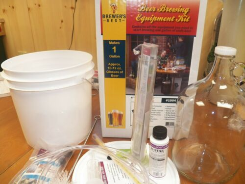 Choice BREWER/'S BEST® ONE GALLON BEER EQUIPMENT KIT W// 1 GAL  INGREDIENT KIT
