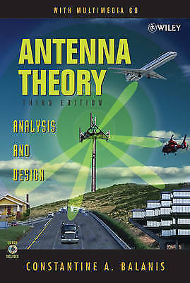 Antenna Theory: Analysis and Design, 3rd Edition by Balanis, Constantine A.