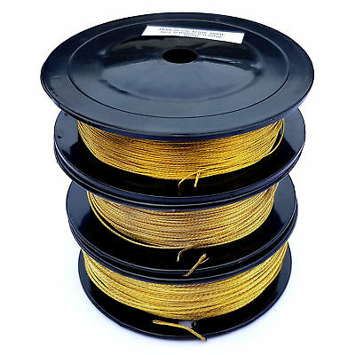 Brass Picture Wire 150m reels no 1,2 and 3
