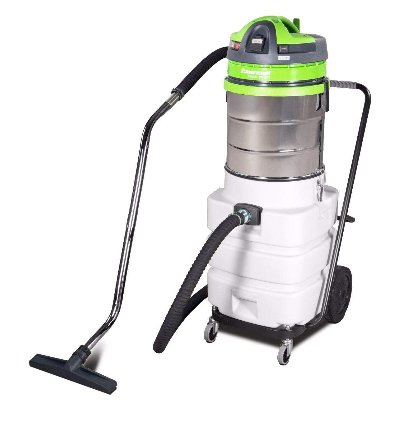 Spezialsauger mit Ölsieb Cleancraft flexcat 390 EOT Staubsauger für Metallspäne