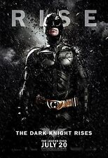 Batman The Dark Knight Rises (2012) Movie Poster (24x36) - Christian Bale NEW