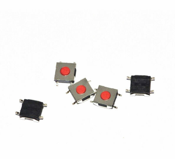 100pcs 6*6*2.5mm Tactile Push Button Switch Tact Switch Micro Switch 4-Pin SMD