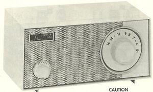 1964 ATKINS 12N27-11 RADIO SERVICE MANUAL SCHEMATIC REPAIR PHOTOFACT