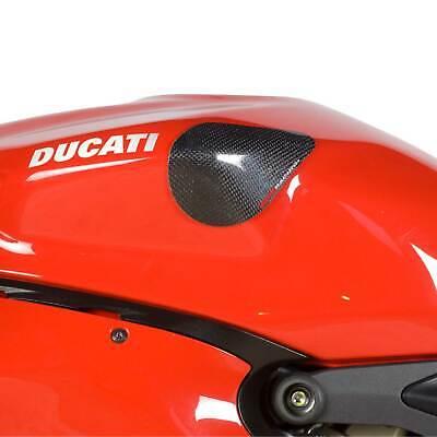 Triumph Daytona 675 up to 2012 R/&G Racing Tank Sliders TS0002C Carbon