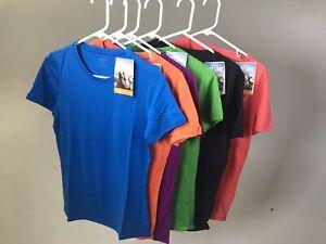 ICEBREAKER-Women-039-s-100-Merino-Wool-Tech-Lite-Crew-T-Shirt-NEW-WITH-TAGS