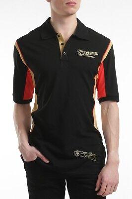 Fiducioso Polo Shirt Per Adulti Formula One 1 Lotus F1 Team Nuovo! Kimi Raikkonen Stile Di Vita-mostra Il Titolo Originale