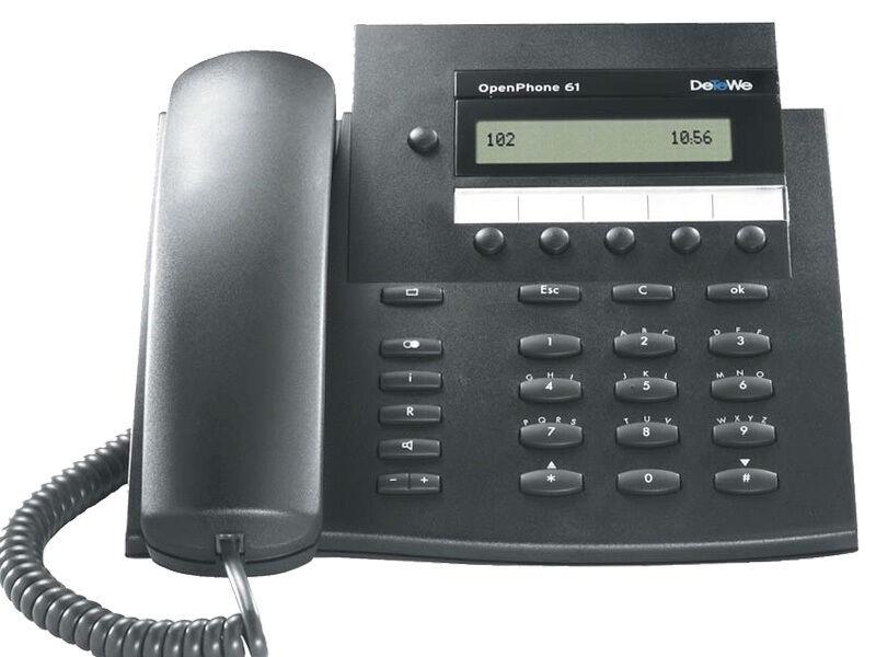 DeTeWe Openphone 61 Systemtelefon Telefon mit Rechnung und Gewährleistung