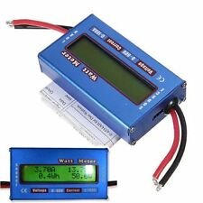 SIMPLE DC POWER ANALYSER WATT VOLT AMP METER 12V 24V SOLAR WIND ANALYZER AMMETER