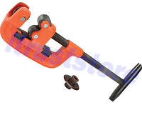 Industrial 2 1/2  Inch Metal Steel Heavy Duty Cast Iron Pipe Cutter Tool No. 2