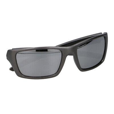 Occhiale Da Sole Sportivo Penn Unisex Grigio Con Lenti Specchio Grigie