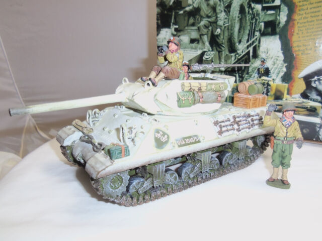 KING AND COUNTRY BBA11 US ARMY M10 TANK DESTROYER MILITARY VEHICLE + CREW