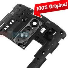 OEM Original LG G3 Back Rear Housing Backplate Frame w/ Camera Lens - NEW Black