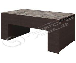 Tavolino da salotto soggiorno moderno con vano contenitore modello ...