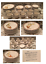 thumbnail 1 - VINTAGE Woodhaven Collection 47-Piece Stoneware Dinnerware Set SUNNY BROOK