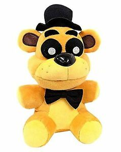 New-Funko-Golden-Freddy-Exclusive-Five-Nights-at-Freddys-Plush-Toy-7-034