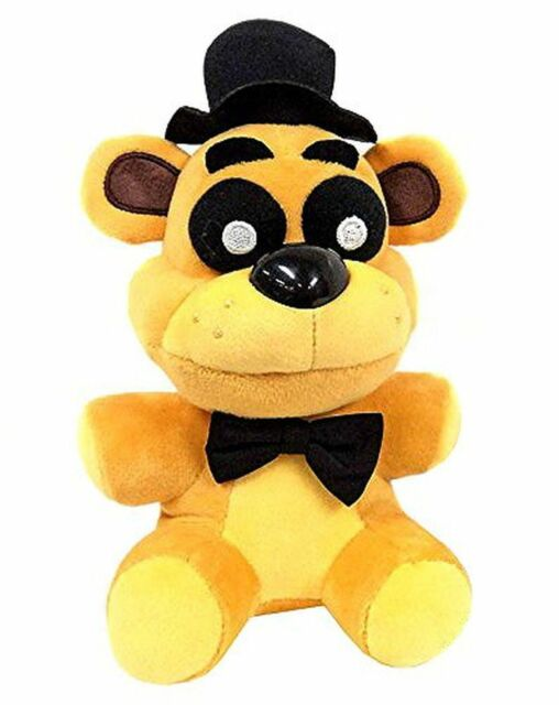 New Funko Golden Freddy Exclusive Five Nights At Freddys Plush Toy 7