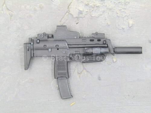 1//6 Scale Toy GI JOE-Snake Eyes-Noir Hong Kong MP7 pistolet mitrailleur