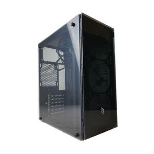 CASE-PC-GAMING-ATX-MINI-ATX-NOUA-P3-FINO-6-VENTOLE-PANNELLI-IN-VETRO-3xUSB