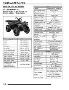 polaris 2011 atv sportsman 400 500 ho touring tract. Black Bedroom Furniture Sets. Home Design Ideas