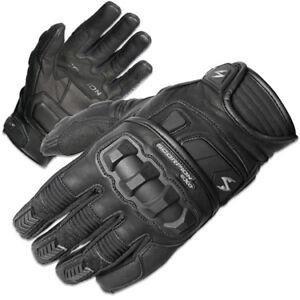 Scorpion Mens Black Klaw Ii Leather Motorcycle Gloves Ebay
