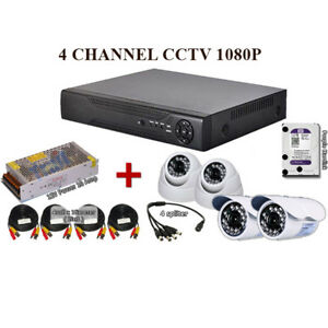 4-Channel-2MP-1080P-AHD-CCTV-P2P-Network-FULL-HD-Recorder