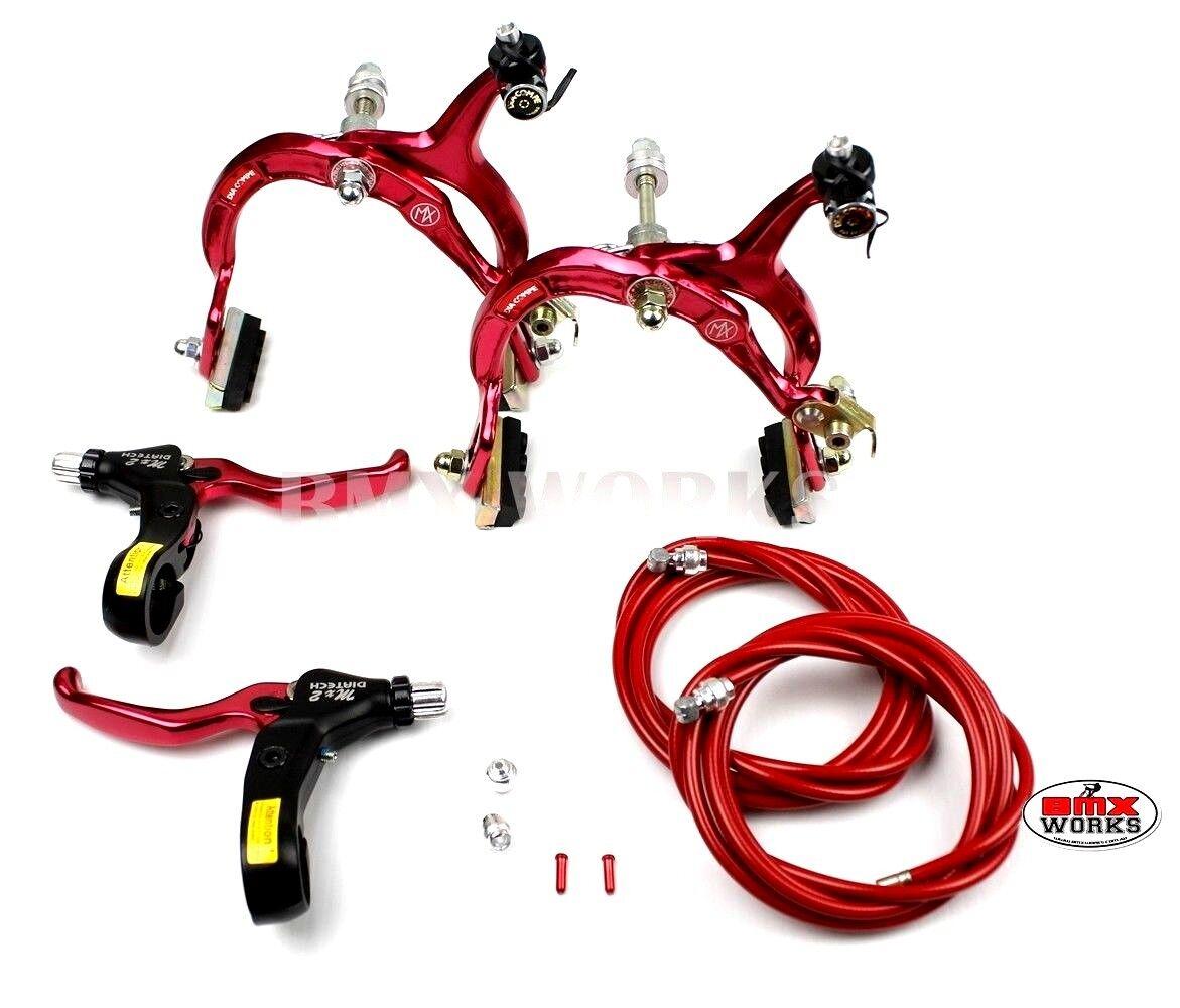 Genuine  Dia-Compe MX1000-MX2 conjunto de freno rojo  descuento online