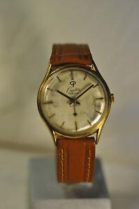 034-Creation-034-17J-Rare-cal-FHF-81-Vintage-Swiss-c-1955-039-s-GP-case-Men-039-s-Wristwatch