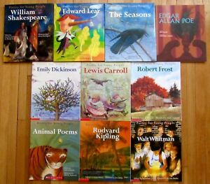 Lot-10-POETRY-FOR-YOUNG-PEOPLE-Kipling-Whitman-Lear-Shakespeare-Seasons-3-HB-L3
