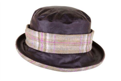 Natalie Twist Wax Tweed Hat