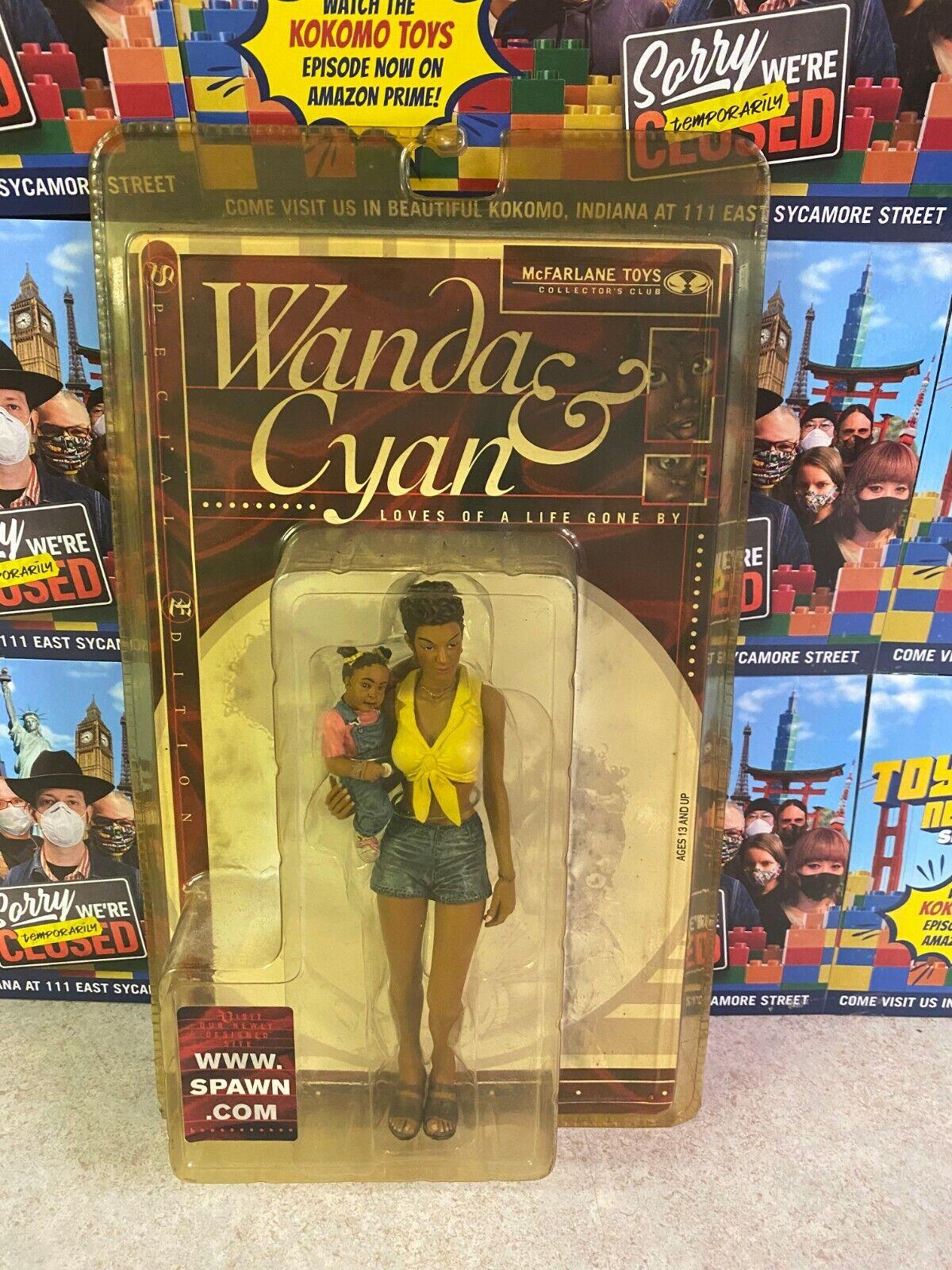 McFarlane Toys 1999 Spawn WANDA & CYAN Collector's Club Exclusive Figure NIP on eBay thumbnail