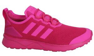 Details zu Adidas Originals ZX Flux Adv Verve Pink Womens Running Trainers S75983 B89C