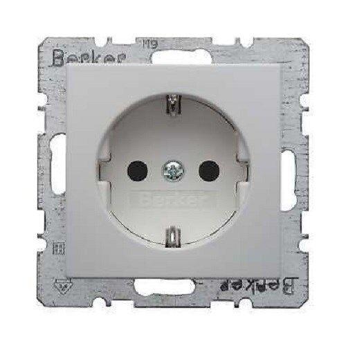 Combinato Presa di corrente Berker 47231909 S1 bianco polare OPACO M.ENHANCED