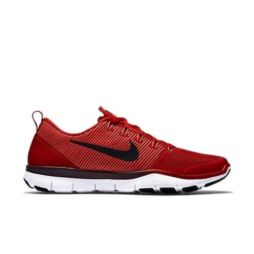 Nike uomini liberi treno versatilità scorpe 15 rosso - nero 833258 606