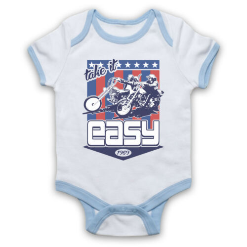 EASY RIDER 1969 UNOFFICIAL MOTORCYCLE CHOPPER FILM BABY GROW BABYGROW GIFT