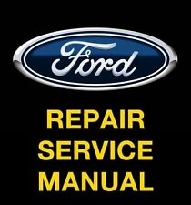 FORD ESCAPE 2001 2002 2003 2004 2005 2006 2007 SERVICE REPAIR MANUAL