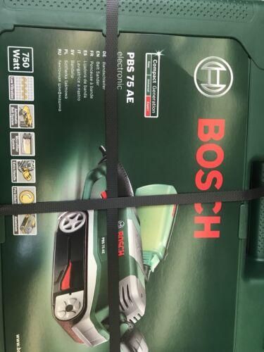 Bosch PBS 75 AE Bandschleifer Neu und OVP!!!