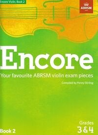 Instruction Books, Cds & Video Energetic Encore Violin Book 2 Grades 3-4 Abrsm 2019 Official