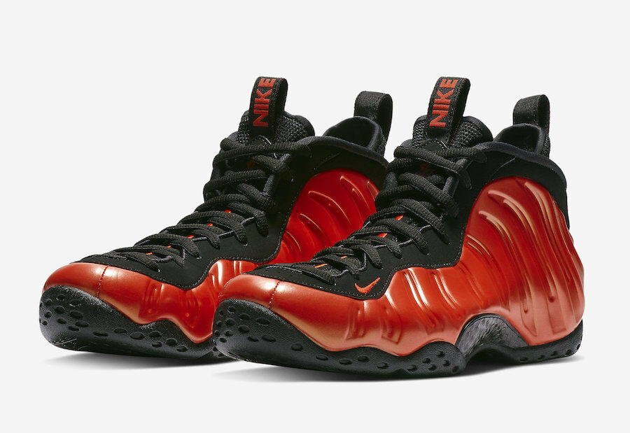 2018 Nike Air Foamposite One Habablack Red Size 12. 314996-603 Jordan Penny