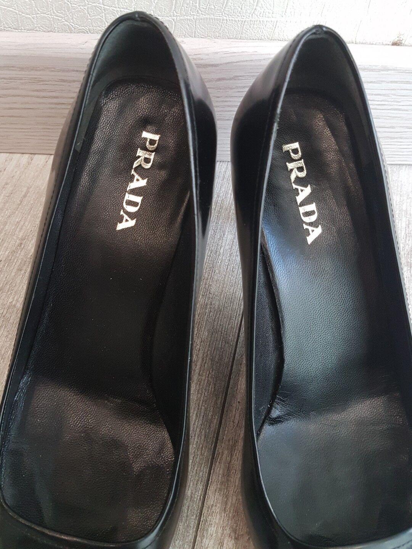 Pumps PRADA schwarzes Leder    PRADA    Größe 36,5   PRADA Schuhe GOOD CONDITION d7c6aa
