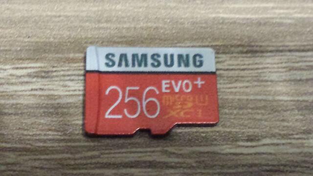 SAMSUNG 256GB EVO PLUS MICRO SDXC UHS-I CARD !