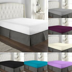 EXTRA-DEEP-16-034-40CM-FITTED-SHEET-100-EGYPTIAN-COTTON-HOTEL-QUALITY-BED-SHEETS