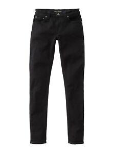 4b5f84ebee6e Nudie Jeans Co Skinny Lin size 27 32 BNWT Black Black skinny jeans ...