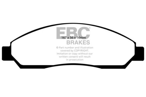 TFS86 EBC Ultimax Front Brake Pads for Isuzu Rodeo 2.5 TD 4WD 2007 /> 08